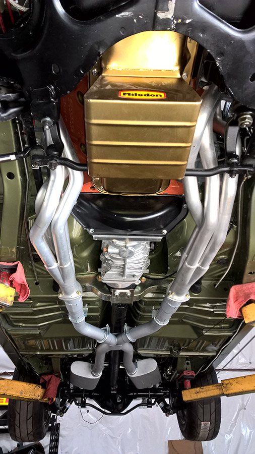 Custom Exhaust System