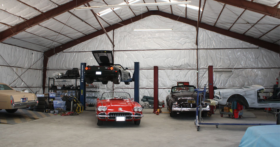 The crew at Freeman Automotive Design