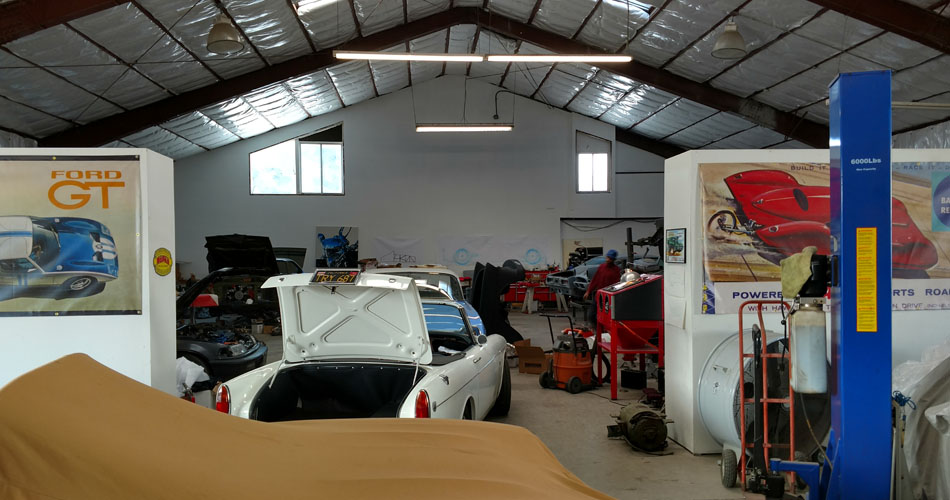 Restoration projects at Freeman Automotive Design